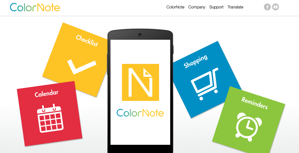 ColorNotes for android tablet