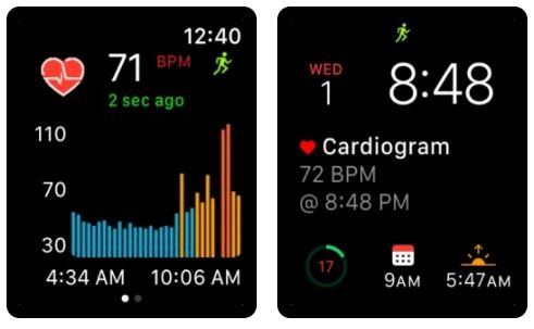Cardiogram App for Apple Watch to monitor heart rate