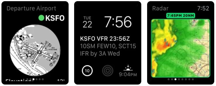 Stratus Insight EFB Apple Watch App for Flying